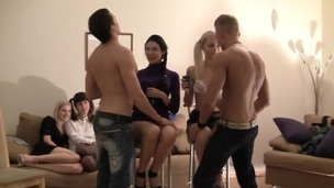 Those beautiful college gals know how to turn any party into a real fuckfest! Watch 'em fuck on camera!