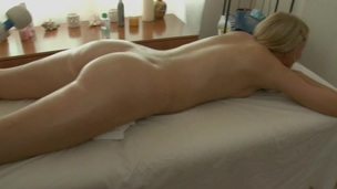Golden-haired messy slut in the misbehaving but nice assfucking