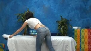 tenåring rype puling fin massasje