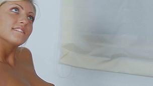 søt sexy blonde anal kjønn