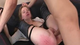 sucking tenåring blonde trimmet puling