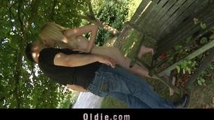 tenåring blonde hardcore sjarmerende blowjob