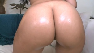 Gorgeous honey is being fucked senseless by lusty hunk